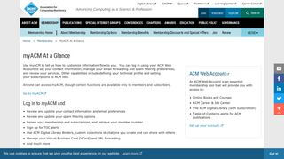 Acm Student Portal