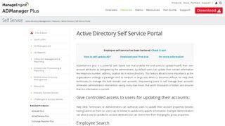 Adselfservice Portal