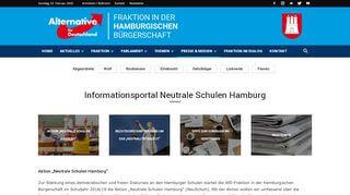 Afd Portal Hamburg