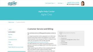 Agile Health Insurance Login Portal