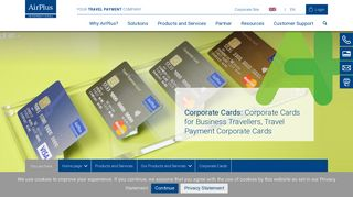 Airplus Corporate Card Portal