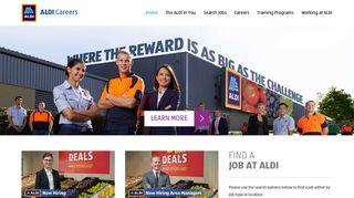 Aldi Careers Portal