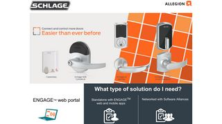 Allegion Engage Portal