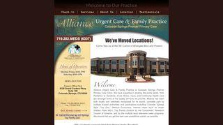 Alliance Urgent Care Colorado Springs Patient Portal