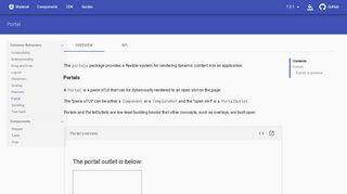 Angular Portal