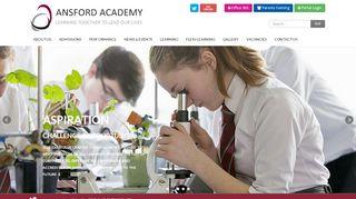 Ansford Academy Portal