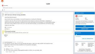Ansible Self Service Portal