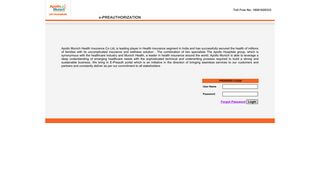 Apollo Health Portal