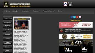 Army Sharepoint Portal