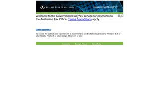 Ato Credit Card Payment Portal