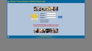Ats Athlete Portal
