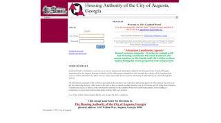 Augusta Housing Authority Landlord Portal