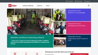Australia Post Employee Portal