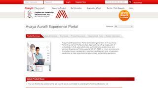 Avaya Experience Portal