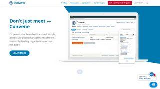 Azeus Convene Board Portal