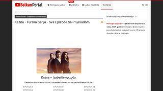 Balkan Portal Kazna