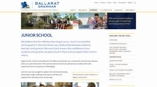 Ballarat Grammar Junior School Portal