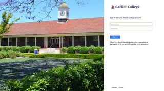 Barker Portal