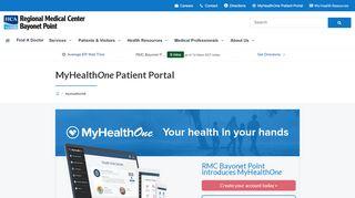 Bayonet Point Hospital Patient Portal