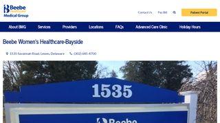 Bayside Health Patient Portal