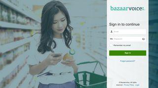 Bazaarvoice Portal