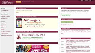Bc Web Portal