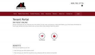 Benson Management Portal