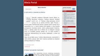 Bileca Portal