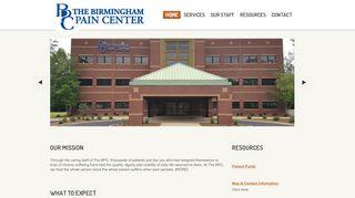 Birmingham Pain Center Patient Portal