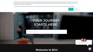 Bishop Grosseteste University Portal