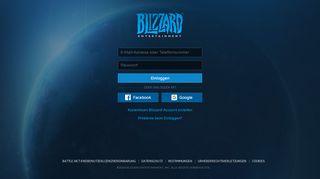 Blizzard Portal