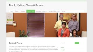 Block And Nation Patient Portal