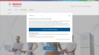 Bosch Partner Portal