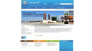 Botswana Government Portal
