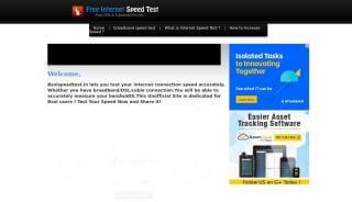 Bsnl Portal Speed Test