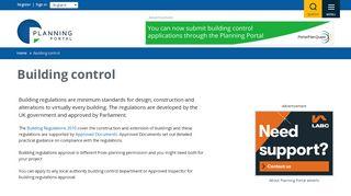 Building Regulations Portal