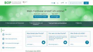 Bzst Online Portal