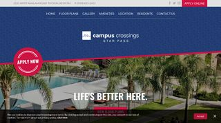 Campus Crossings Star Pass Resident Portal
