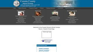 Campus Portal Coweta