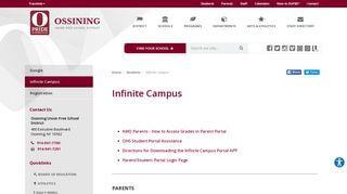 Campus Portal Ossining