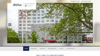 Carson Tower Resident Portal