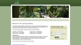 Center Parcs Learning Academy Login