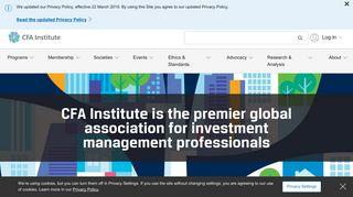 Cfa Learning Portal