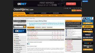 Champions League Odds Portal