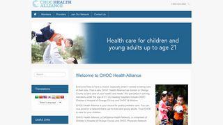 Choc Health Alliance Provider Portal