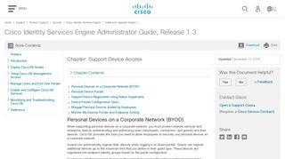 Cisco My Devices Portal