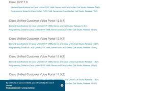 Cisco Voice Portal Developer