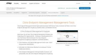 Citrix Self Service Portal