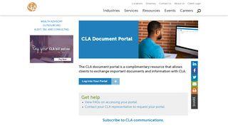 Cla Document Portal
