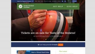 Cleveland Food Bank Portal